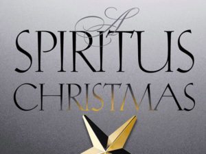 A graphic promoting A Spiritus Christmas