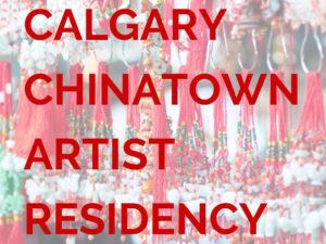 Calgary Chinatown Artist Residency image