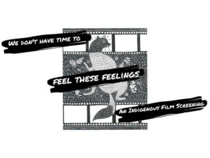A graphic for We Don't Have Time to Feel These Feelings
