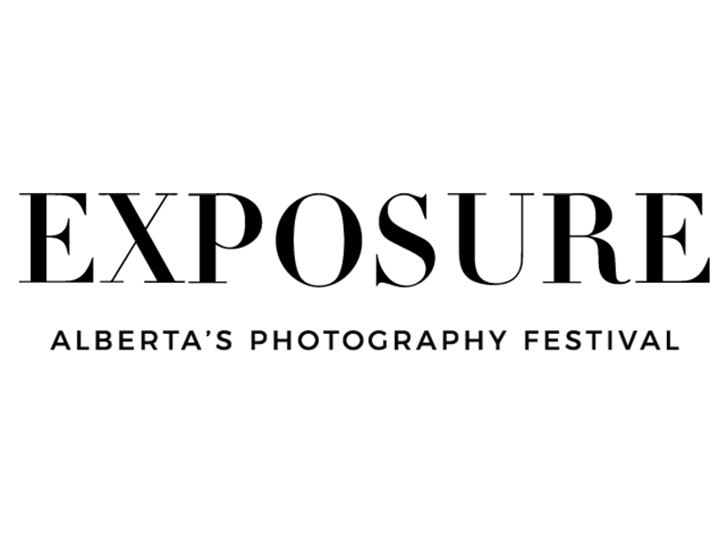 Exposure Alberta's Photography Festival logo