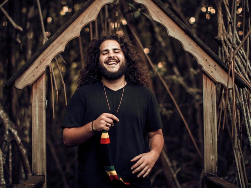 A promo photo of Caleb Hart