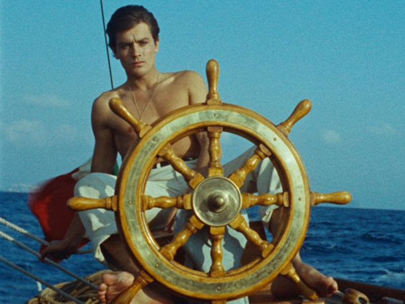 A still from Purple Noon