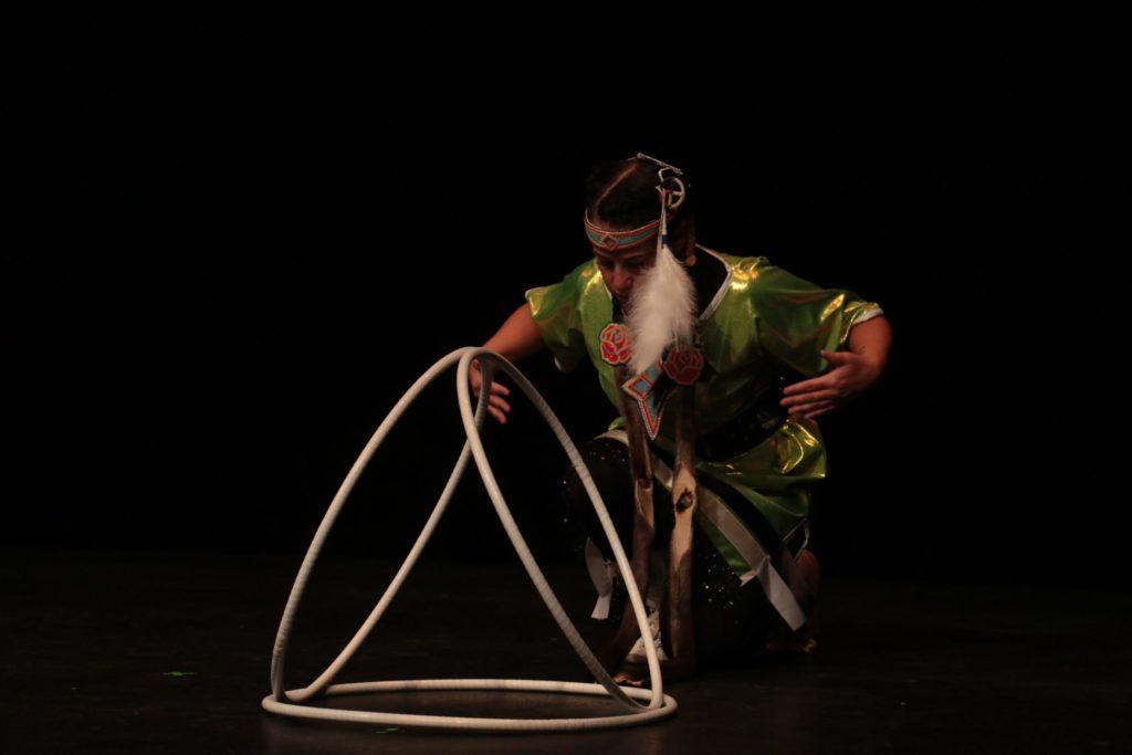 Hoop Dancer photo