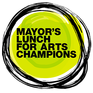Mayor's Lunch for Arts Champions logo for 2020