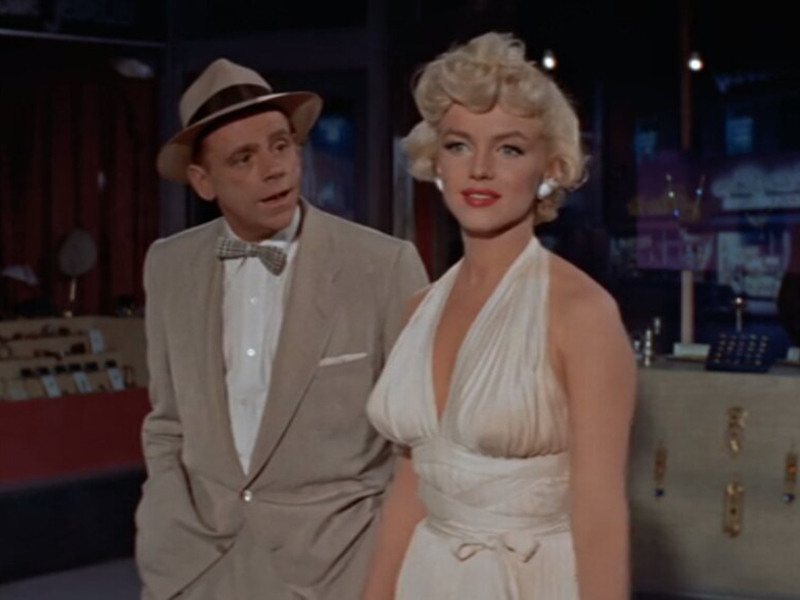 A still from The Seven Year Itch