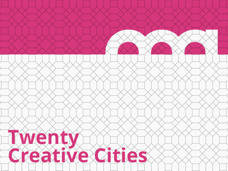 Twenty Creative Cities graphic