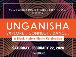 A poster for UNGANISHA