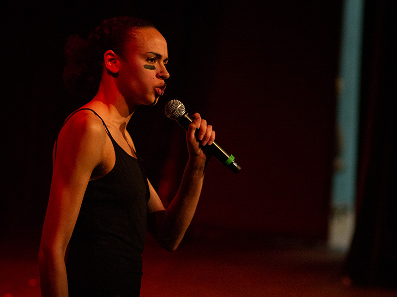 Mel Vee on stage during last year's We Gon Be Alright performance