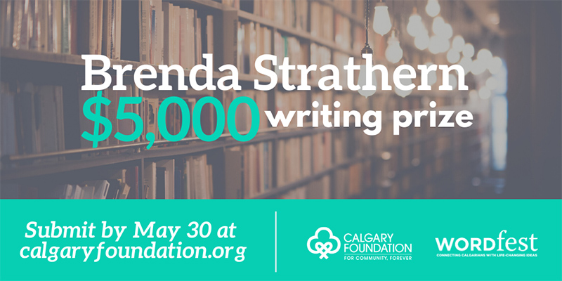 A graphic for the Brenda Strathern Writing Prize
