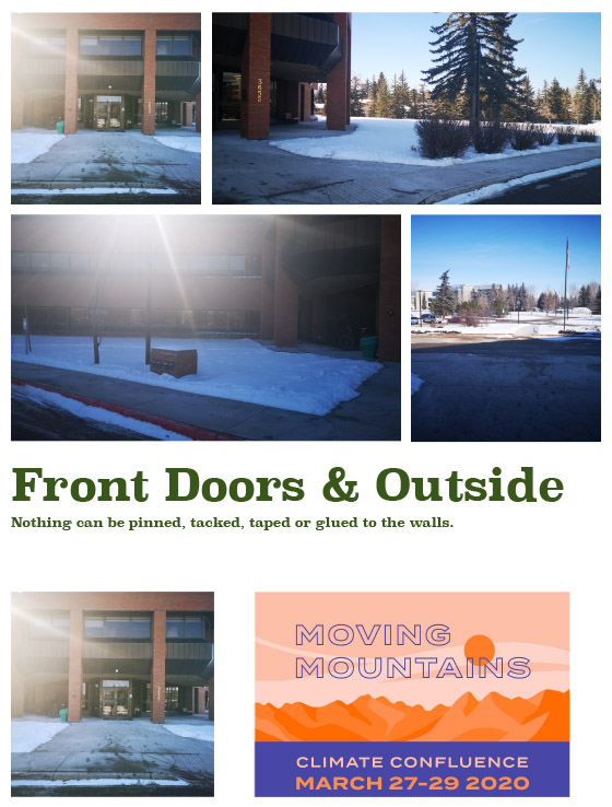 Front doors & Outside