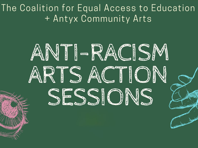 Anti-Racism Arts Action Sessions feature image