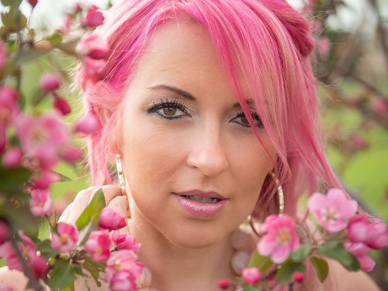 A promo photo of Crystal McGrath