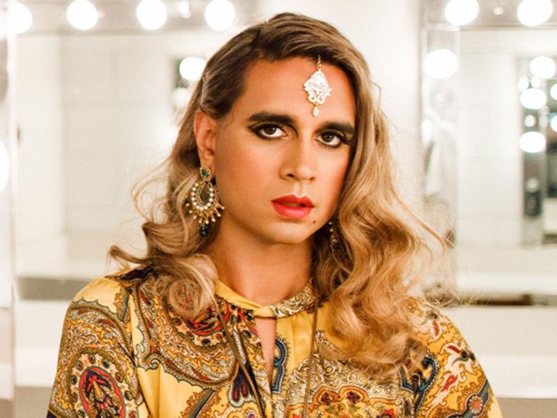 A promo photo of Vivek Shraya