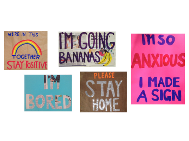 Samples from I'm So Angry I Made a Sign