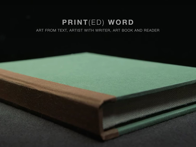 A graphic promoting the Print(ed) Word Documentary Series