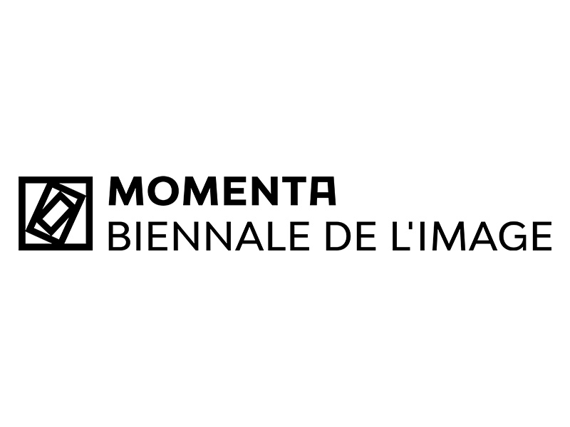 MOMENTA I Biennale de l'image logo