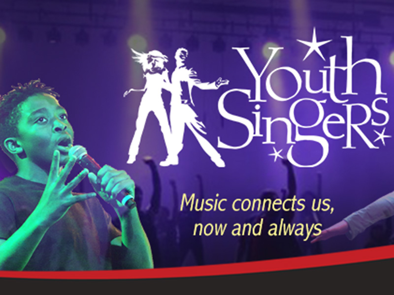 Youth Singers, music connects us now and always