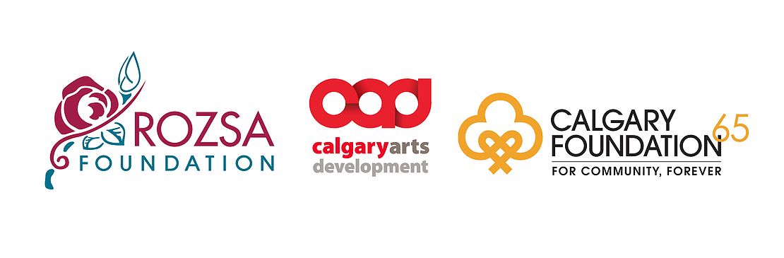 Logos for the Rozsa Foundation's COVID-19 Programs