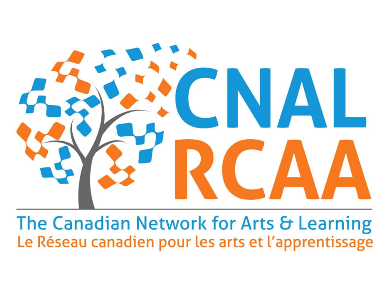Canadian Network for Arts & Learning logo