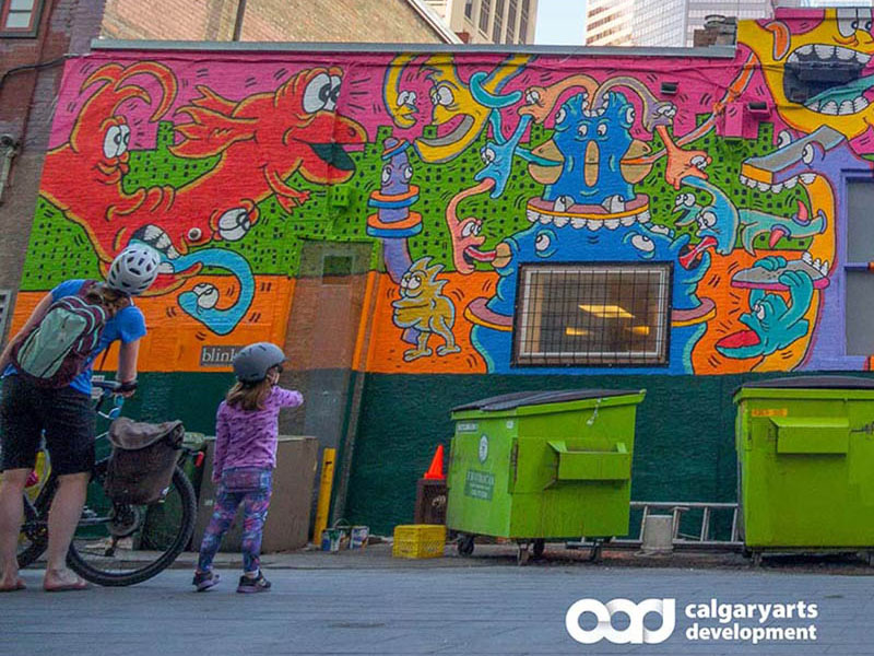 The cover of Calgary Arts Development's Accountability & Impact Report for 2019