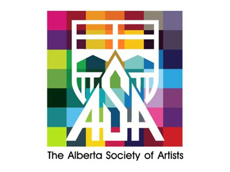 Alberta Society of Artists colour logo