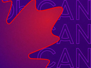A graphic for Oh Canada programming from Canadian Heritage