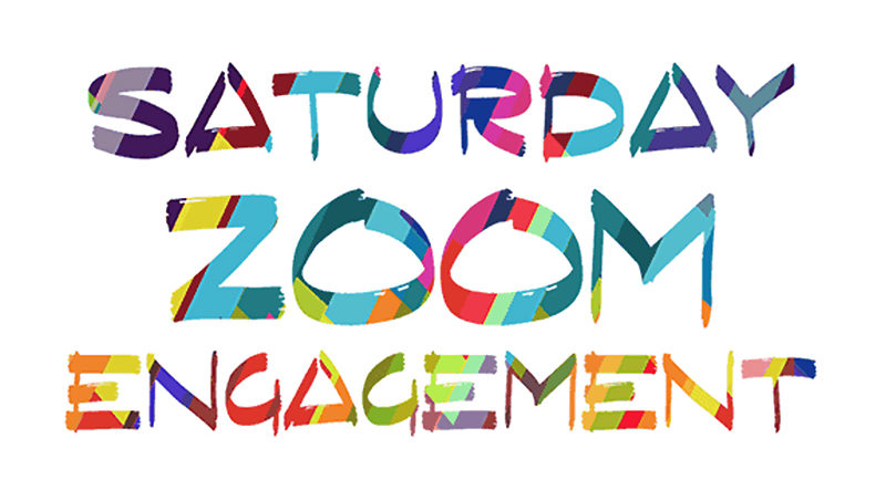 Saturday Zoom Engagement logo