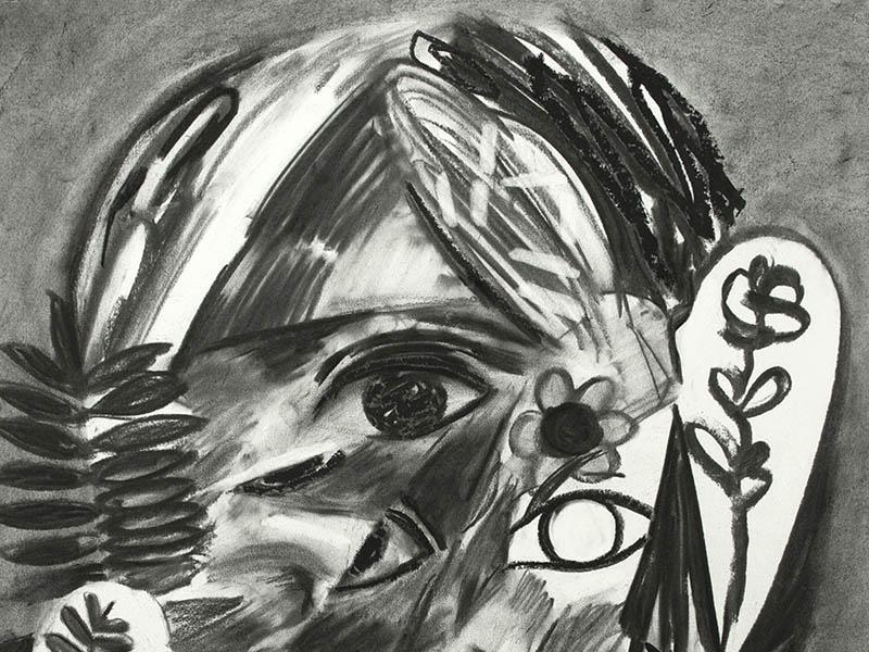Detail of Erik Olson's Untitled 8