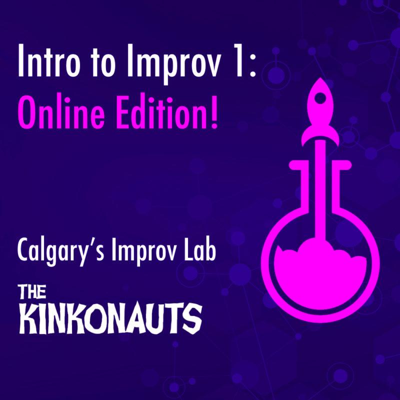 Intro to Improv 1: Online Edition graphic