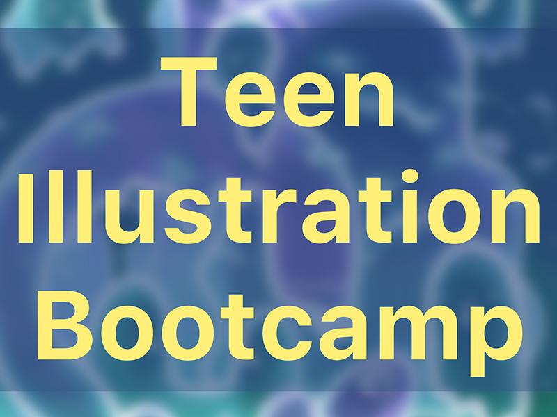 Teen Illustration Bootcamp graphic