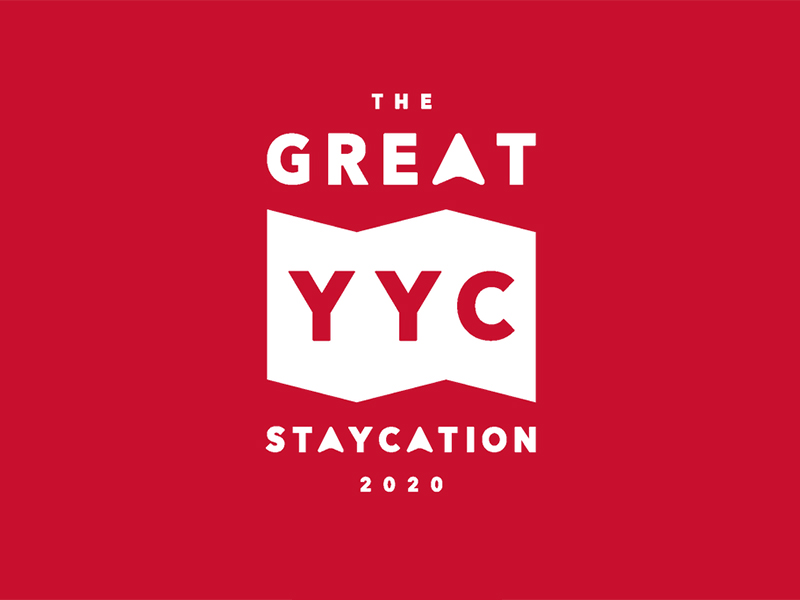 The Great YYC Staycation logo