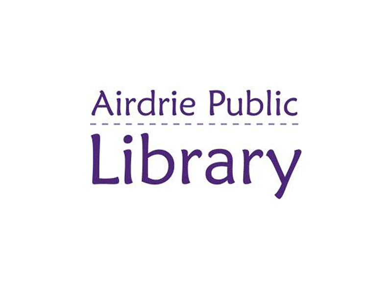 Airdrie Public Library logo