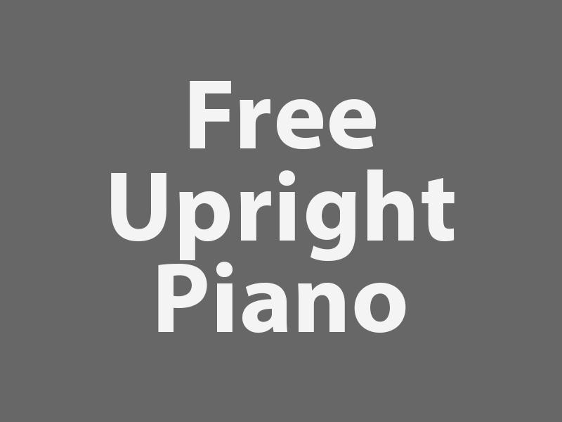 Free Upright Piano graphic