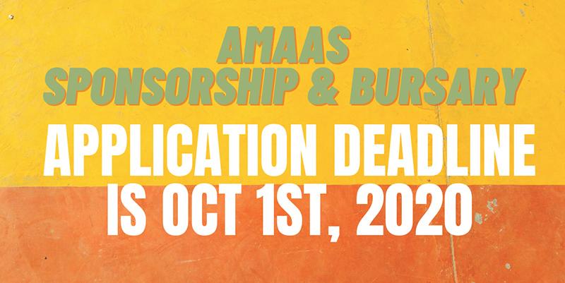 Application deadline is October 1, 2020