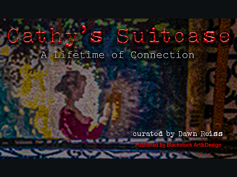 The cover of Cathy's Suitcase, A Lifetime of Connection