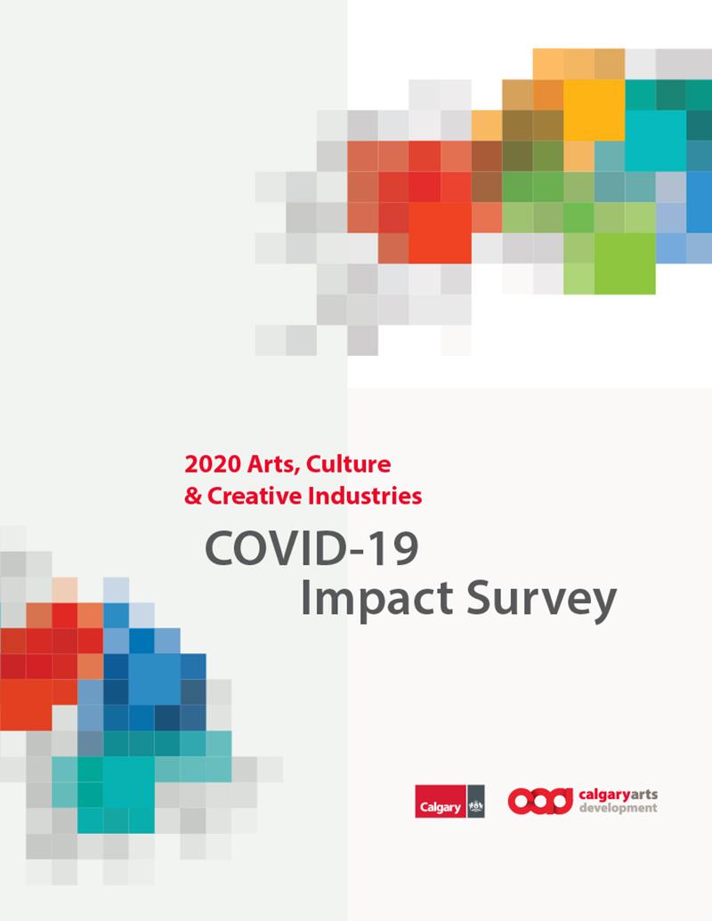 2020 Arts, Culture & Creative Industries COVID-19 Impact Survey cover