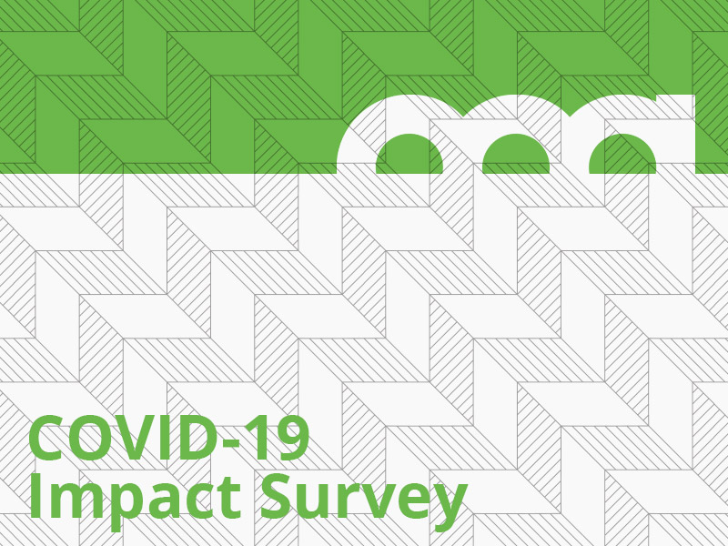 COVID-19 Impact Survey graphic