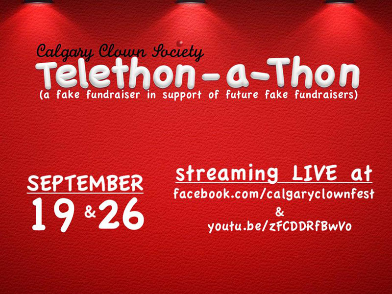 A graphic for the Telethon-a-Thon