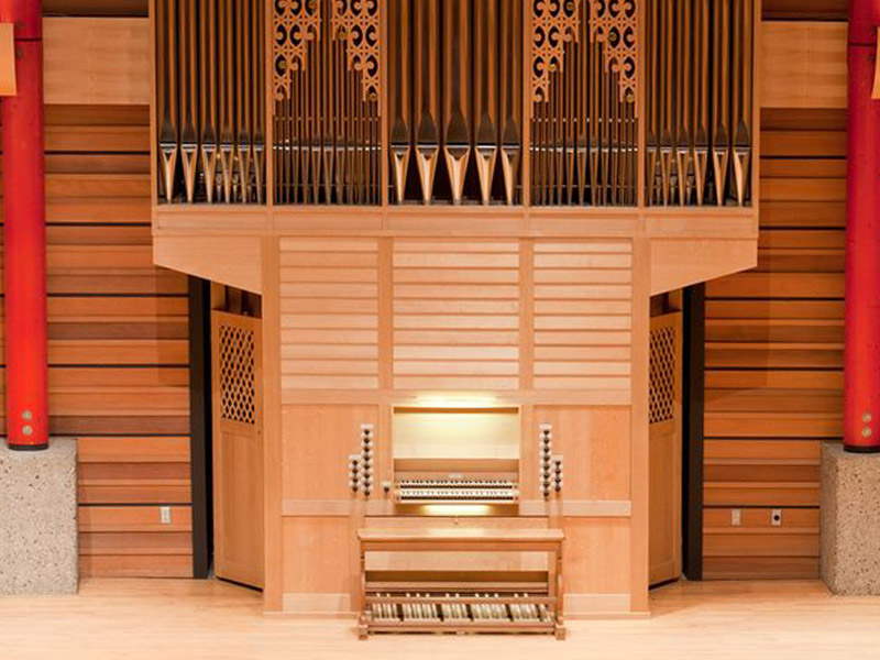 The Ahrend organ at the University of Calgary