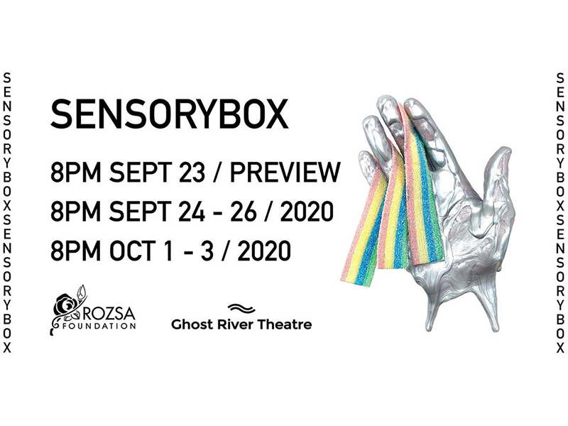 A graphic for SensoryBox