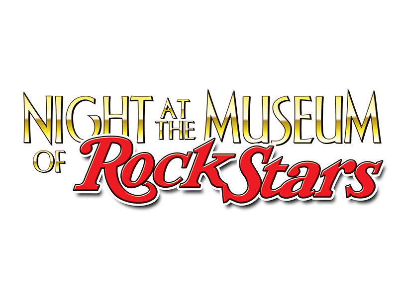 Night at the Museum of Rock Stars logo