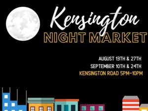 Kensington Night Market graphic