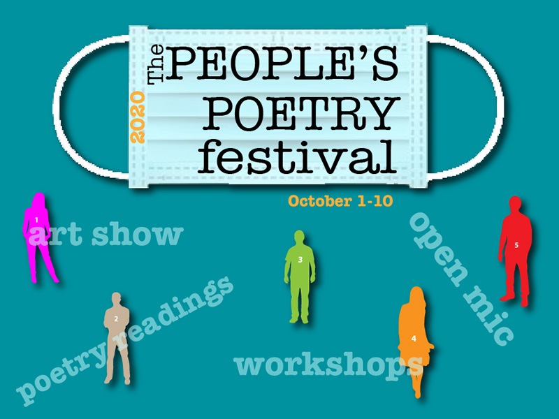A poster for The People's Poetry Festival