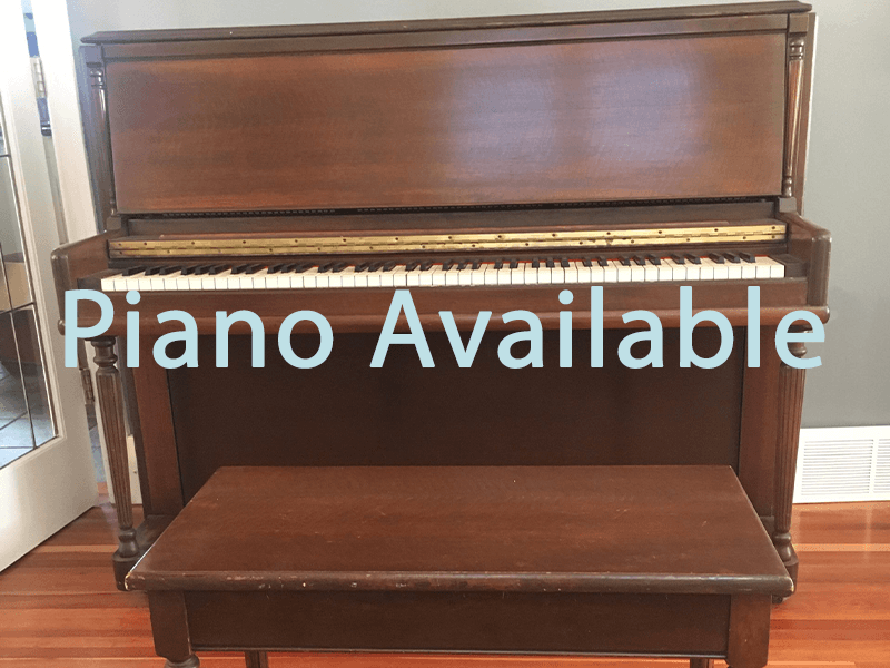 Piano Available graphic