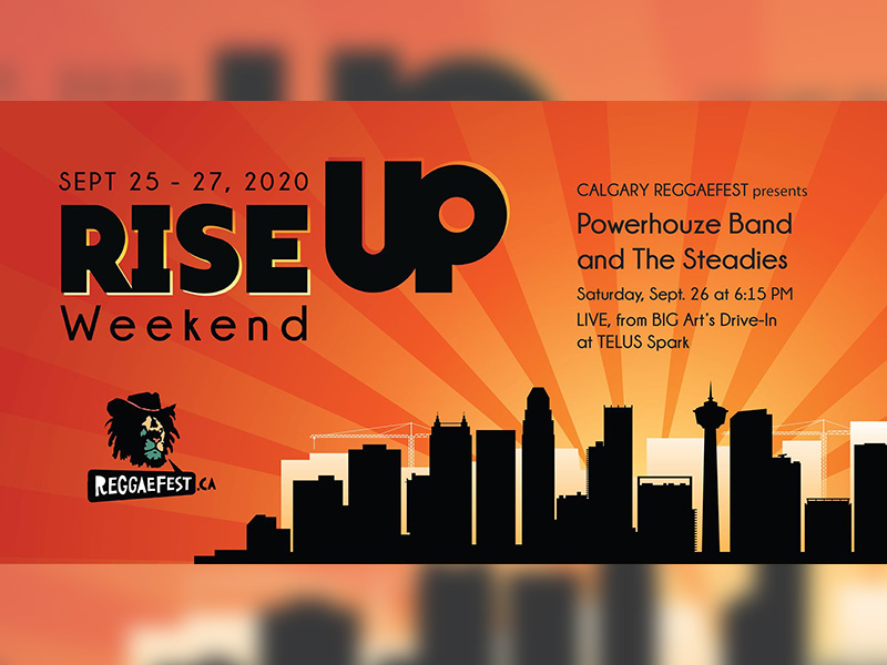 PowerHouze Band and The Steadies at RISE UP Weekend
