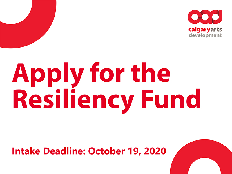 Apply for the Resiliency Fund graphic