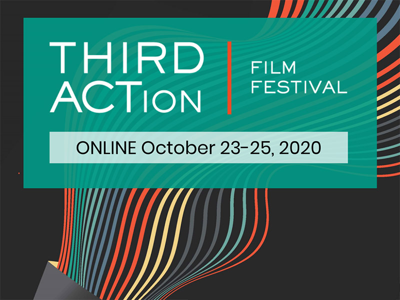 A graphic for the 2020 THIRD ACTion Film Festival