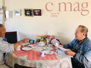 Digital photo documentation of elders interviewed by Justin Langlois as part of Locals Only, 2017-19