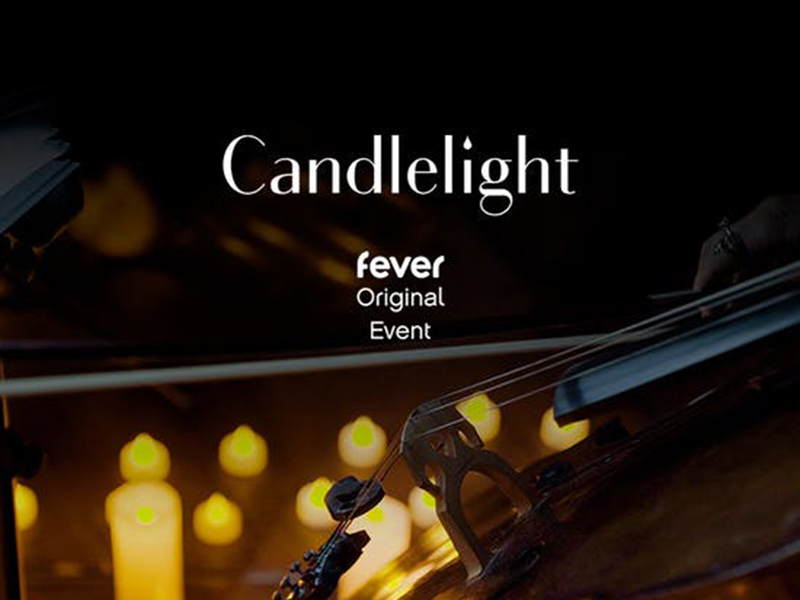 A graphic for Candlelight: Featuring Vivaldi's Four Seasons