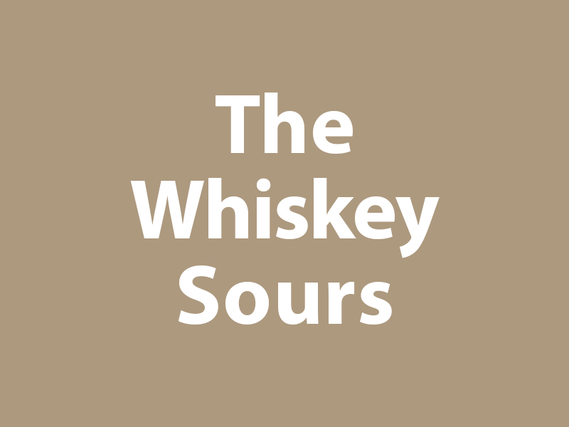 The Whiskey Sours graphic
